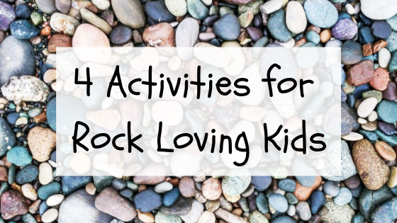 Easy Toddler activities for rock lovers