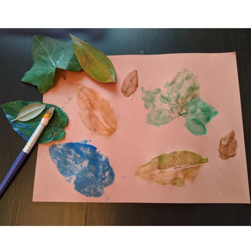 Leaf Stamping finished product