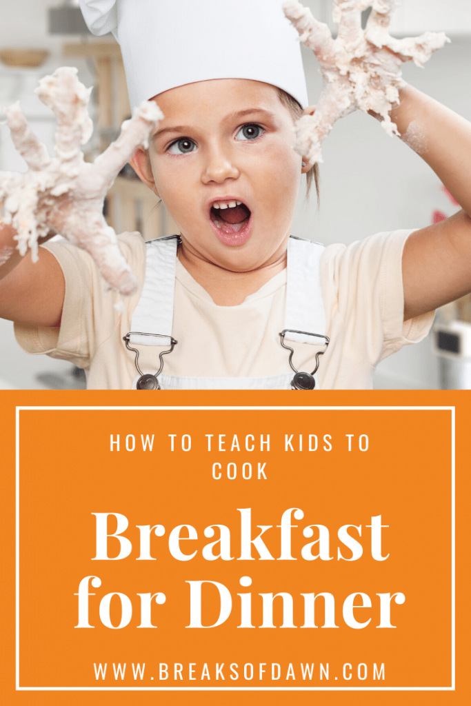 How to Teach Your Kids to Cook Pin
