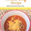 Easy Tomato Soup Recipe